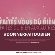 La générosité continue de s'affirmer en France