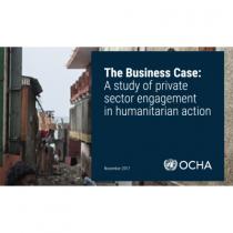 L'engagement des entreprises privées dans l'action humanitaire
