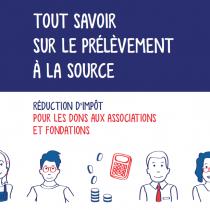 Prélèvement à la source : comment informer les donateurs?