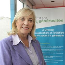 photo de Françoise Sampermans, Présidente de France générosités