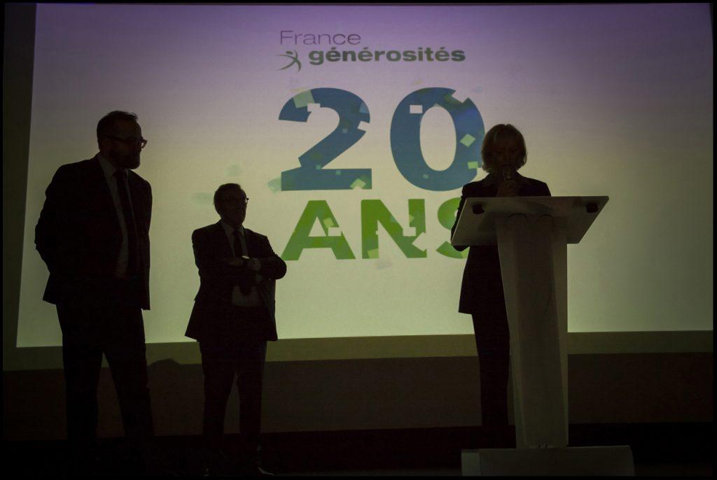 20 ans France Générosités