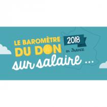 Baromètre 2018 du don sur salaire