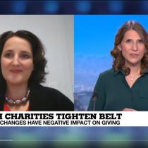 Interview de Laurence Lepetit par France 24